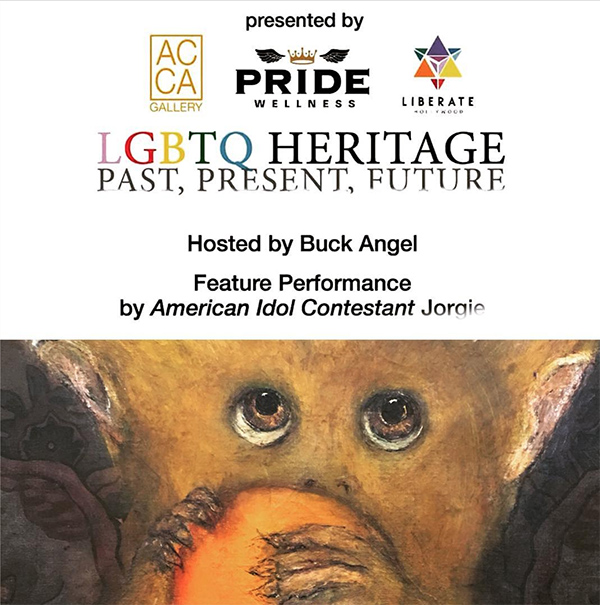 5f765a9d25a5 AC Gallery Los Angeles presents the LGBTQ HERITAGE Past, Present, Future. A  multi-media group exhibition dedicated to presenting the work of artists ...